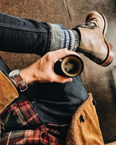 It's a Man's World rugged style Rugged Style, Style Casual, My Style, Smart Casual, Style Brut, Lumberjack Style, Mode Statements, Mode Man, Style Masculin
