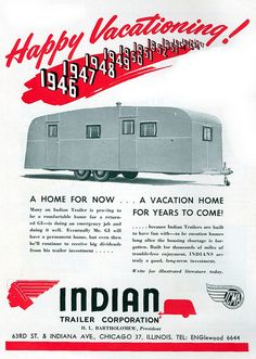 Random Vintage Trailer Ads! by Heintz Designs, via Flickr