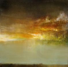 "Saatchi Online Artist: Maurice Sapiro; Oil 2013 Painting ""Dusk"""