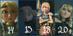 Astrid is one of my favorite characters, she's awesome!!!!!!