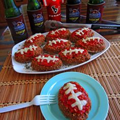 Gameday Recipes Website: Hungry For Football. Has a lot of great ideas.