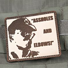 Assholes and Elbows Aliens Morale Patch