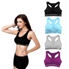ac06a43872795 Absorb Sweat Quick Drying Professional Sports Bra