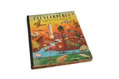 The Golden Encyclopedia, Giant Golden Book, Vintage 1946 Illustrated Children's Reference Book
