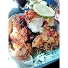 Tori karaage [to-ree kah-rah-ahg-eh] - Japanese fried chicken (Foodee)