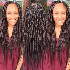 STYLIST FEATURE| In love with these #boxbraids done by #MiamiBraider @_braidsbykate_ ❤️So neat#VoiceOfHair