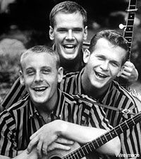 The Kingston Trio. Got to see them perform in 1979 in Sun Valley, Idaho. Love, love their music!