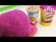 Kinetic sand selber machen deutsch - Rezept für bunten Zaubersand selber machen mit Holi Pulver - YouTube