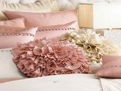 beautiful big pillows | inspiring pics above, is segment of How to Create Decorative Pillows ...