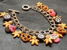 maxi collar de flores de arcilla polimerica - Buscar con Google