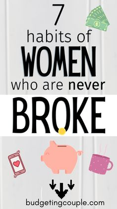 Learn how to save money even on a low income! These frugal habits are used by women who are NEVER broke & can help you take control of your finances. Learn the money-saving hacks of women who always have money! BudgetingCouple.com Ways To Save Money, How To Get Money, Money Tips, Money Saving Tips, Money Hacks, Raise Money, Budgeting Finances, Budgeting Tips, Financial Tips