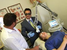 The very FIRST #Halo system from @sciton in Europe!! Training taking place @DrAyoubi in London today #aesthetics