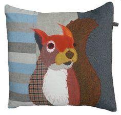 The Squirrel Cushion