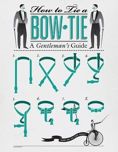 for the record - not all bow tie drawings are this helpful