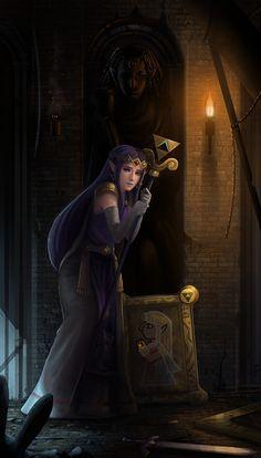 The Legend of Zelda: A Link Between Worlds, Princess Hilda / Hilda by yagaminoue on deviantART