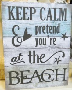 The Best Wooden Beach Signs You Can Buy at Beachfront Decor! Beach wooden signs are perfect for wall decor in a coastal home. Beach Cottage Style, Coastal Style, Coastal Living, Coastal Decor, Beach House, Beach Signs Wooden, Interior Design Advice, Old Wall, Quiz