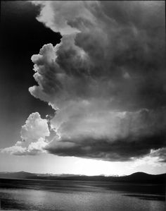 Ansel Adams   Thundercloud, Lake Tahoe, 1938