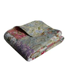 This Blooming Prairie Reversible Throw is perfect! #zulilyfinds