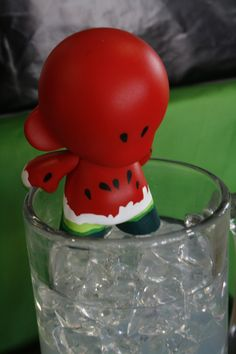 Watermelon Munny - Sandio by Dani Colin