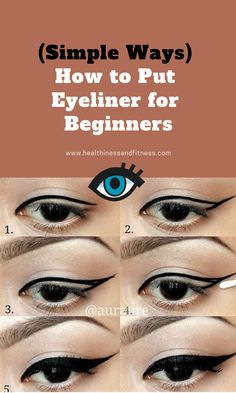 """Get fantastic suggestions on """"eyeliner for beginners"""". They are actually accessi., Get fantastic suggestions on """"eyeliner for beginners"""". They are actually accessi. Eyeliner Hacks, Eyeliner Types, Pencil Eyeliner, Eyeliner Liquid, Eyeliner Ideas, How To Put Eyeliner, Perfect Eyeliner, Beauty Hacks Eyelashes, Eye Makeup Tips"""