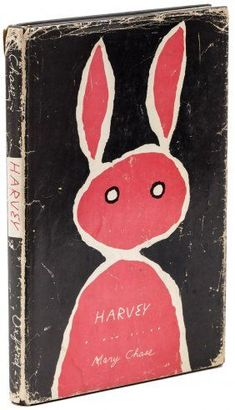 Harvey by Pulitzer Prize winner Mary Chase Book Cover Art, Book Cover Design, Book Art, Book Illustration, Illustrations, Drawing, Buch Design, Design Design, Layout Design