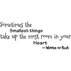 I have a little winnie pooh figure that says this right next to my bed :)