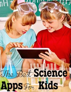 Need some fun and educational apps to keep your budding scientists busy? From weather to volcanoes, dinosaurs to biology, students will learn all about the scientific method, fun facts, and exciting discoveries! Perfect as part of STEM or STEAM learning, these apps are great for in or out of the classroom!