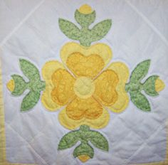 Rose of Sharon...A very old applique block pattern