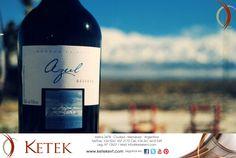 Donde el Valle de Uco se hizo Botella. Bodega LA AZUL. Visitas, degustación y almuerzos. Reservas: info@ketekevt.com/ Mendoza  - Argentina