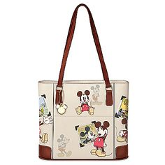Retro Mickey Mouse Handbag