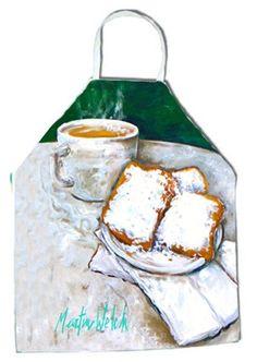 Beingets Breakfast Delight Apron MW1008APRON