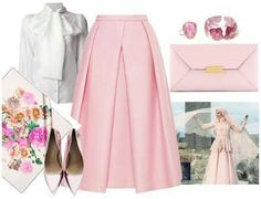 Romance Stylish Work Outfits, Modest Outfits, Skirt Outfits, Muslim Fashion, Hijab Fashion, Fashion Outfits, Women's Fashion, Cute Fashion, Skirt Fashion
