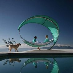 Royal Botania SURF Hammock: Relaxation Comes in Waves
