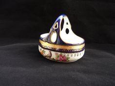 Vintage Porcelain Basket Graf Von Henneberg by LaCassoulere, $67.00