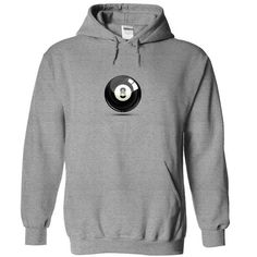 8 Ball Pool  - #grey tee #hoodie fashion. GET => https://www.sunfrog.com/Sports/8-Ball-Pool-Style-8734-SportsGrey-7403338-Hoodie.html?68278