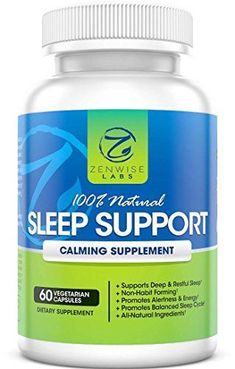 100% Natural Sleep Supplement- Extra Strength Night time Sleep Aid Supplement - 60 Vegetarian Non-Habit Forming Capsules With Magnesium, L-Taurine, L-Theanine & 5-HTP - Pills for Deep & Restful Sleeping Zenwise Labs http://www.amazon.com/dp/B00YVTAOES/ref=cm_sw_r_pi_dp_EJD0vb1YJ6BJ8