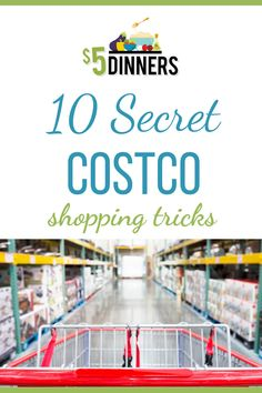 These 10 Secret Costco Shopping Tricks will help you get the most out of your membership! Learn all the hidden benefits and start saving money! Costco Shopping, Shopping Hacks, Best Blogs, Mom Blogs, Costco Membership, Gluten Free Meal Plan, Budget Meals, New Tricks, Food Allergies
