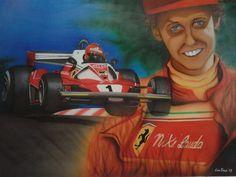 Niki Lauda, GP del Nürburgring 1976.