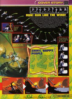 Earthworm Jim Collected Images - Rocket Worm!