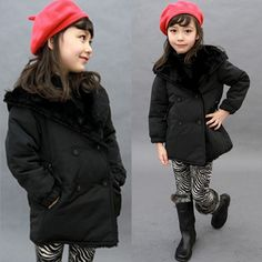 Aliexpress.com : Buy 2013 winter female child fashion wincey with a hood outerwear top double breasted wadded jacket down jackets SCG 3062 from Reliable girls winter coat suppliers on Sunlun Wholesale And Retail Center $24.69
