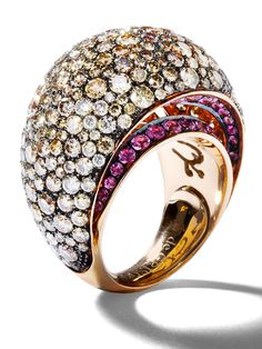 De Grisogono ring, $29,300, degrisogono.com.   - HarpersBAZAAR.com