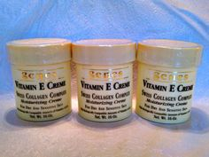 Vitamin E Creme for dry and sensitive skin - Family 3 pack! (Genes - Swiss Collagen Complex) by Genes. $35.45. Swiss Collagen Complex!. Contains Vitamin E, A & D. Protects and helps promote healthy skin!. Designed for dry and sensitive skin!. Convenient (3) 16 oz jars -- 48 oz. total! A rich moisturizing creme! Also includes biologically compatible amounts of Vitamins A & D!