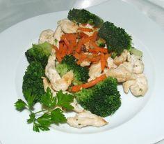 mięsko warzywa