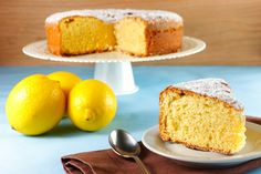 Traditional Italian Limoncello Cake (Caprese al Limone) | Enjoy this authentic Italian recipe from our kitchen to yours. Buon Appetito!