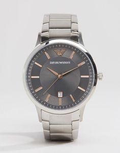 b3d5bd5f1d2 Emporio Armani Ar2514 Bracelet Watch In Silver Armani Para Homens