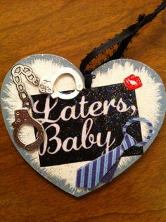 Fifty Shades of Grey Laters Baby Christmas Ornament by HeavenlyDesigns1, $5.00  Omg!! This is awesome SBL!!!!