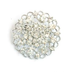 This large rhinestone embellishment is only $1.85 a piece.