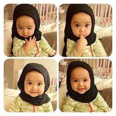 Tips Jika Ingin Hamil Anak Perempuan Precious Children, Beautiful Children, Beautiful Babies, Cute Little Baby, Baby Love, Baby Hijab, Kids Girls, Baby Kids, Cute Babies Photography