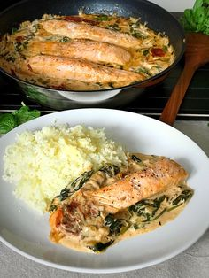 Healthy Recepies, Healthy Breakfast Recipes, Healthy Snacks, Seafood Dishes, Fish And Seafood, I Love Food, Good Food, Lchf, Everyday Food