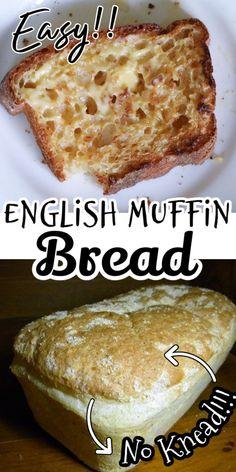 Loaf Recipes, Bread Machine Recipes, Baking Recipes, One Loaf Bread Recipe, Bagels, Tortillas, English Muffin Bread, English Muffins, Bread Bun